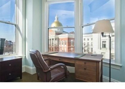 A Very Stately View at 20 Beacon Street
