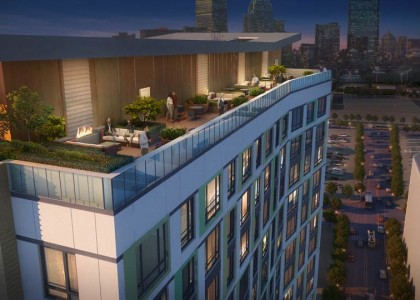 TROY | South End Luxury Apartments | $185-million | 378 Apartments | 180 Parking Spaces