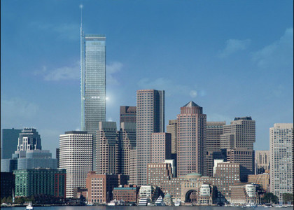 Progress Marches on for Boston's Millennium Tower