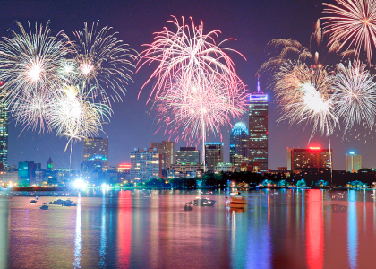Boston's July 4th, 2015 Fireworks | Hatch Shell Celebration