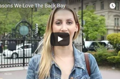 Video Launch: Reasons We Love The Back Bay