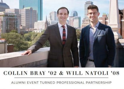 Alumni Event Turned Professional Partnership